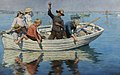 Stanhope Forbes - Chadding in Mount's Bay 1902.jpg