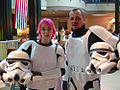 Star Wars Celebration III - two 501st members i met at lunch in the mall (4878867860).jpg