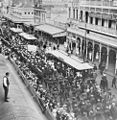 StateLibQld 1 88324 Dungarees marching along Queen Street, Brisbane, 1915.jpg