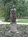 Statue of Herakles in Łazienki Park, Warsaw, Poland 2.jpg