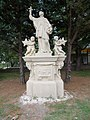 Statue of John of Nepomuk (1785), 2017 Soroksár.jpg