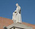 Statue of San Giovanni di Dio in the Hospital San Pietro Fatebenefratelli.jpg