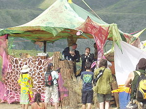 Psychedelic trance - Performance at a Russian psytrance festival, 2008
