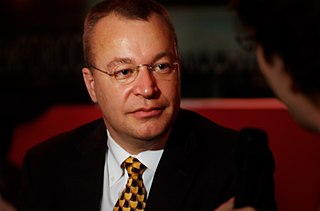 Stephen Elop Canadian businessman