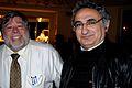 Steve Wozniak & Hovhannes Kizoghian in Yerevan, Armenia, Noveber, 2011.jpg