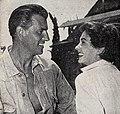 Stewart Granger and Jean Simmons, 1955.jpg