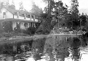 Shalalth - Seton House at Shalalth, 1946