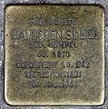 Stolperstein Gotenstr 73 (Schön) Hannchen Sindel.jpg