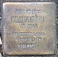 Stolperstein Hektorstr 20 (Halsee) Franz Kuhn 02.jpg