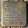 Stolperstein Hermann Katz (Griedeler Str.15 Butzbach).jpg