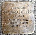 Stolperstein Karlsruhe Bernhard Hochherr Kapellenstr 72 (fcm).jpg