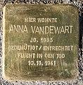 Stolperstein Kirschenallee 5 (Westend) Anna Vandewart.jpg