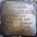 Stolperstein Salzburg, Johanna Standl (Griesgasse 8).jpg