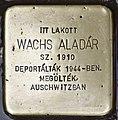 Stolperstein für Aladar Wachs (Nyíregyháza).jpg