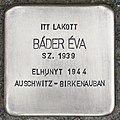 Stolperstein für Eva Bader (Magyarmecske).jpg
