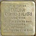 Stolperstein für Evelina Chimichi Alatari (Rom).jpg