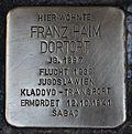 Stolperstein für Franz Haim Dortort.JPG