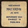 Stolperstein für Max Krohn (Cottbus).jpg