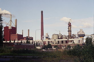 Peat energy in Finland - Stora Enso pulp and paper mill in Oulu has capacity of 884 GWh peat fuel energy