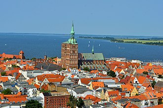 Western Pomerania - Stralsund (pictured) and Greifswald form the urban center of Western Pomerania