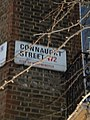 Street sign, Connaught Street W2 - geograph.org.uk - 1600169.jpg