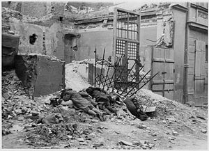 Warsaw Ghetto Uprising - Photo from Jürgen Str...