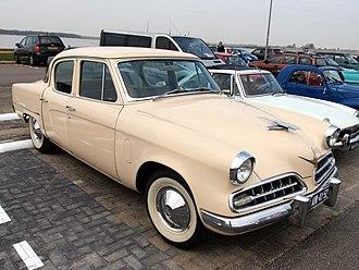 Studebaker Champion - 1954 Champion 4-door sedan