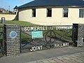 Sturminster Newton ... railway memorial gate. (3279214275).jpg