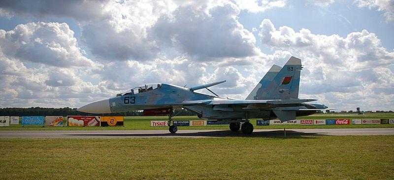 File:Su-27UBM Radom 2009 g.JPG
