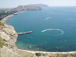 Bay of Sudak.