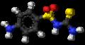Sulfathiourea molecule ball.png