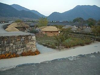 Naganeupseong - Image: Suncheon Naganepseong 02