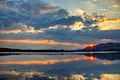 Sunset over the Lake of Menteith - panoramio.jpg