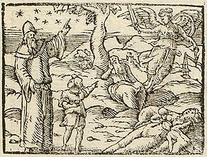 Supreme Impiety, Atheist and Charlatan - Picta poesis, by Barthélemy Aneau (1552)