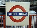 Surrey Quays roundel.JPG