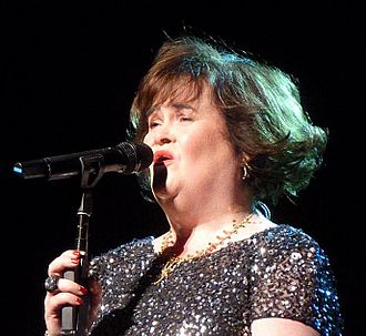 Susan Boyle - Boyle performing during her first concert tour, Susan Boyle in Concert, 2013