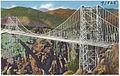 Suspension bridge over the Royal Gorge, Canon City, Colorado. (7725178492).jpg