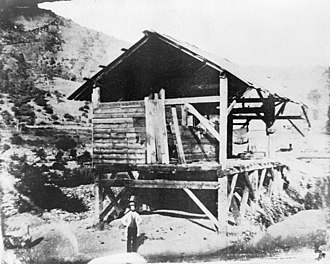 John Sutter - Sutter's Mill in 1850.