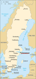 Sw-map, CIA World Factbook, Stockholm pinpoint.png
