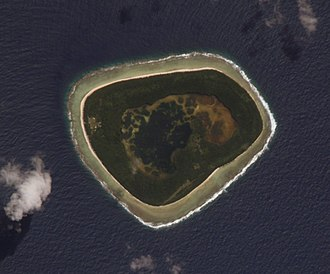 Swains Island - Swains island as seen from space