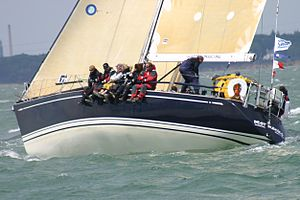 Swan 441 - Swan 441 BestBuddies GER4908 at the 2011 Swan Europeans in Cowes (GBR) held by the Royal Yacht Squadron