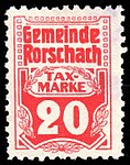 Switzerland Rorschach 1909 revenue 20c - 3.jpg