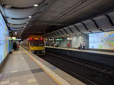 Domestic Airport railway station Sydney Domestic Airport Station4.jpg