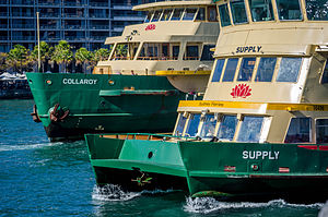Sydney Ferries - Image: Sydney Ferry Supply and Collaroy
