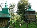Szczawne. Zespół cerkwi gr.-kat. p.w. Zaśnięcia Marii, obecnie prawosławna, 1889 rok. 01.JPG