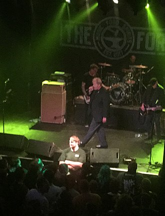 T.S.O.L. - T.S.O.L. performing in May 2018, at the Forge in Joliet, Illinois in support of Dead Kennedys