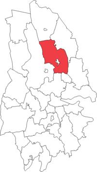 Linde landskommune i Örebro amt