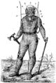 T4- d643 - Fig. 401 — Plongeur revêtu de l'appareil Cabirol, vu de face.png