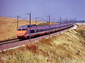 SNCF TGV Sud-Est - Image: TGV Train à Grande Vitesse