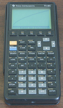 Compte et recompte - Page 4 250px-TI85_graphing_calculator
